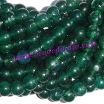 Aventurine Green 8mm round semi precious gemstone beads.