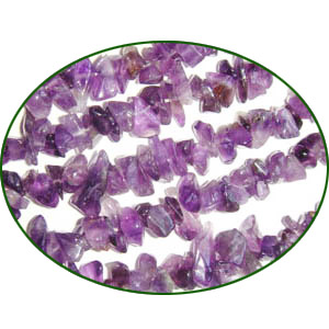 Fine Quality Amethyst Chips, size: 3mm to 6mm