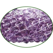 Fine Quality Amethyst Light Coin, size: 5mm to 7mm