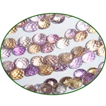 Fine Quality Ametrine Faceted Onion, size: 5mm to 7mm