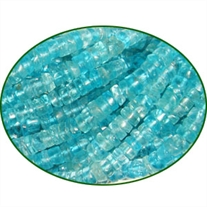 Fine Quality Apatite Plain Tyre, size: 4mm to 6mm