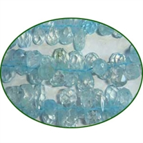 Fine Quality Aquamarine Dyed Faceted Handcut Drops, size: 6mm to 7mm
