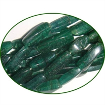 Fine Quality Aventurine Green Twisted Cube, size: 10mm to 16mm