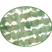 Fine Quality Aventurine Parrot Uncut Chips, size: 3mm to 6mm