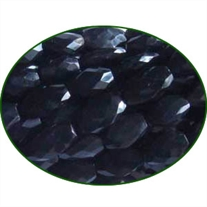 Fine Quality Black Onyx Faceted Oval, size: 6x8mm to 8x12mm