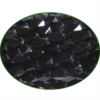Fine Quality Black Onyx Faceted Brick, size: 4x6mm to 5x8mm