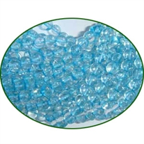 Fine Quality Blue Topaz Dyed Plain Round, size: 4mm