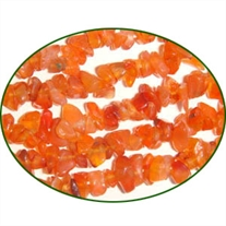 Fine Quality Carnelian Uneven Chips Uncut, size: 3mm to 6mm