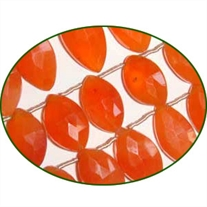 Fine Quality Carnelian Faceted Marquise, size: 7x14mm to 10x20mm