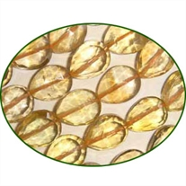 Fine Quality Citrine Faceted Top Drill Pears, size: 7x9mm to 8x10mm