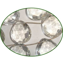 Fine Quality Crystal Faceted Large Faceted Heart, size: 20mm to 25mm