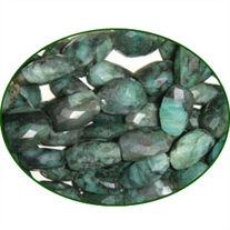 Fine Quality Emerald Faceted Tumble, size: 15mm to 20mm