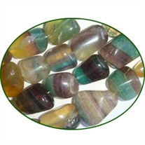 Fine Quality Fluorite Multi Plain Tumble, size: 12mm to 25mm