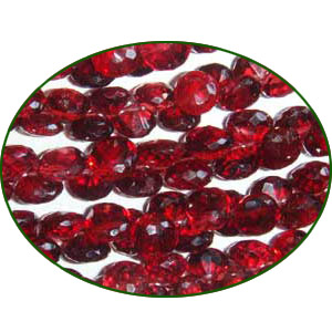 Fine Quality Mozambiaue Garnet Faceted Onion  Onion, size: 5mm to 6mm