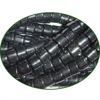 Fine Quality Hematite (Haematite) Plain Tyre Wheel, size: 4mm to 6mm