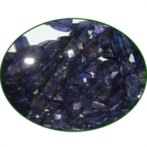 Fine Quality Iolite Faceted Chiclet, size: 5x7mm to 7x9mm