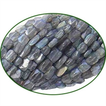 Fine Quality Labradorite Faceted Brick, size: 4x6mm to 6x10mm