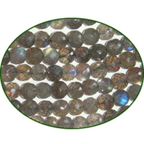 Fine Quality Labradorite Faceted Round, size: 6mm to 8mm