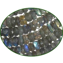 Fine Quality Labradorite Faceted Roundel, size: 6mm to 6.5mm