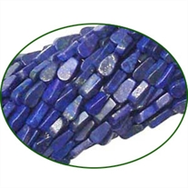 Fine Quality Lapis Lazuli Plain Pear, size: 6x8mm to 7x9mm