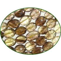 Fine Quality Lemon Topaz Faceted Oval, size: 9x11mm to 10x12mm