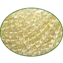 Fine Quality Lemon Topaz Plain Round, size: 4mm