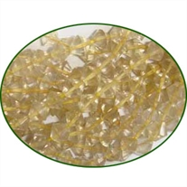 Fine Quality Lemon Topaz Faceted Drum, size: 4mm to 5mm