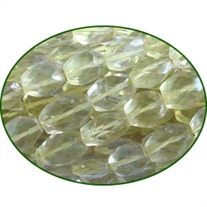 Fine Quality Lemon Topaz Faceted Oval, size: 6x8mm to 8x10mm