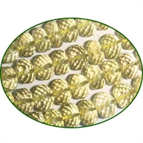 Fine Quality Lemon Topaz Faceted Roundel, size: 6mm to 7mm