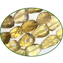 Fine Quality Lemon Topaz Faceted Tumble, size: 12mm to 20mm