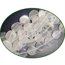 Fine Quality Rainbow Moonstone Plain Coin, size: 7mm to 9mm