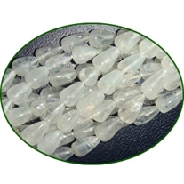Fine Quality Rainbow Moonstone Plain Top Drill Drops, size: 7mm to 9mm