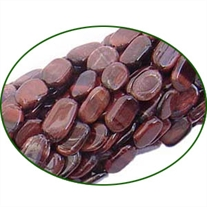 Fine Quality Red Tiger Eye Plain Oval, size: 8x10mm to 10x12mm