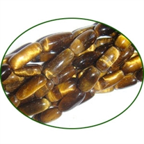 Fine Quality Tiger Eye Plain Rice, size: 10mm to 12mm
