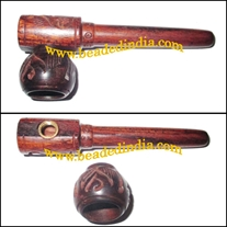 Handmade rosewood smoking pipe, size : 3 Inch
