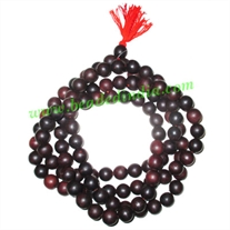 Rosewood handmade fine quality 18mm beads string (rosewood mala of 108 beads without knots)