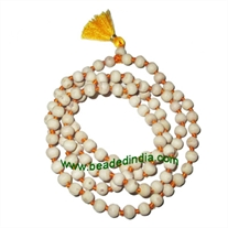 Real tulsi sacred-auspicious wood beads mala-string of 108 beads, size: 6mm perfect round