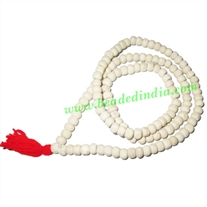 Natural Wooden Beads String (mala), size: 6mm