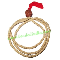 Natural Wooden Beads String (mala), size: 3.5mm