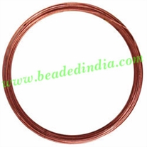 Copper Metal Wire 10 gauge (2.59mm).