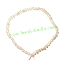 Fresh Water Pearl String, approx 53 pearls of size 2mm in a string