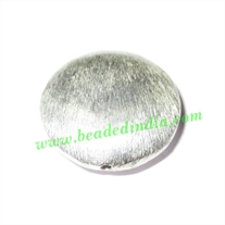 Sterling Silver .925 Brushed Beads, size: 20x6.5mm, weight: 4.1 grams.