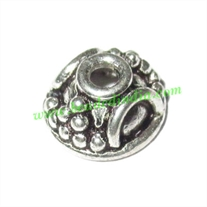 Sterling Silver .925 Caps, size: 4.5x10mm, weight: 0.83 grams.
