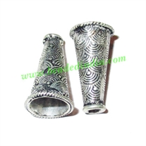 Sterling Silver .925 Cones, size: 20.5x11mm, weight: 1.89 grams.