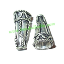 Sterling Silver .925 Cones, size: 24.5x13mm, weight: 4.02 grams.