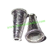 Sterling Silver .925 Cones, size: 20.5x12mm, weight: 1.98 grams.