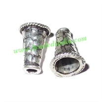 Sterling Silver .925 Cones, size: 13x9mm, weight: 0.92 grams.