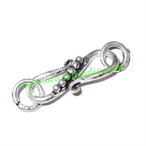 Sterling Silver .925 S Hooks, size when expanded: 22x9mm with 6mm ring, weight: 1.48 grams.