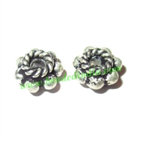 Sterling Silver .925 Spacers, size: 3.5x6.5mm, weight: 0.48 grams.