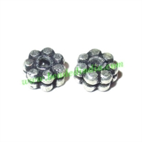 Silver Plated Spacers, size: 2x5mm, weight: 0.3 grams.